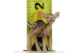 Hagen Renaker Miniature Deer Baby Fawn Standing & Lying Ceramic Figurine Set image 3