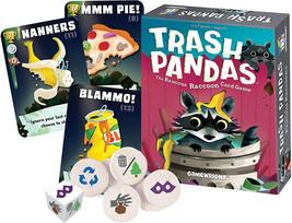 Gamewright Trash Pandas - The Raucous Raccoon Card Game - 252-Standard - $13.99