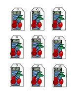 Cherry15 Tags-Digital Download-ClipArt-ArtClip-Digital - $4.00
