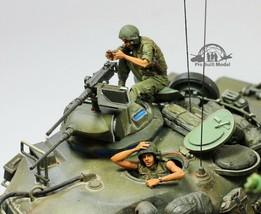 (Pre-Order)  US Tankers in fight (02 figures) Vietnam war 1:35 Pro Built... - $54.43