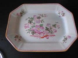 Adams China England CALYX WARE Meat Serving Platter 13.75 inch - $24.74