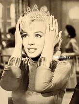 Marilyn Monroe Beautiful Princess with A Jeweled Tiara 2-sided print RAR... - $9.89