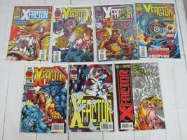 X-Factor #122-128 Lot of 7 comics 1996 Marvel Comics - C5050 - £9.63 GBP
