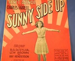 25 1929 sunny side up by desylva  brown    henderson cr  1929 desylva  brown   henderson cond f spine sep writing on cover gen wear and age and handling discolor  6 pgs 9x12 pd .12 05 12  7679 thumb155 crop