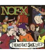 NOFX - I Heard They Suck Live CD  - $4.00