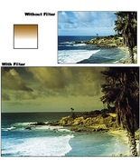 Cokin 132 P132 Gradual Yellow Y1 Filter with Protective Case for P Serie... - $28.99
