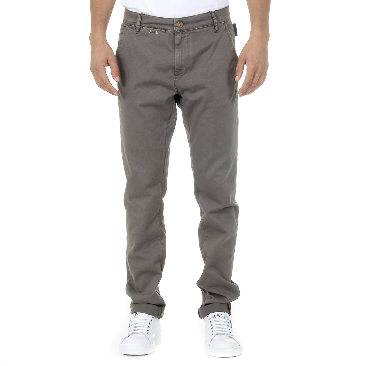 Primary image for Andrew Charles Mens Pants Brown AMARA