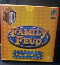 Family Feud Game Cards 203 Cards Ages 8+ 2+ Players Friends Party Game N... - $12.32