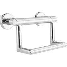 Delta Decor Assist Contemporary Toilet Paper Holder with Assist Bar in Chrome - $43.95
