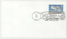 Wright Brothers First Flight 3783 First Day Cover Kill Devil Hills NC FD... - $3.95