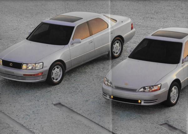 1994 Lexus LS 400 ES 300 ANNIVERSARY EDITIONS brochure catalog US 94