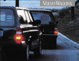 1993 Volvo WAGONS brochure catalog US 93 240 940 960 Turbo - $8.00