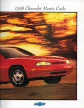 1998 Chevrolet MONTE CARLO brochure catalog 98 LS Z34 Chevy - $8.00