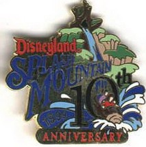 Splash Mountain 10th Anniversary ride Authentic Disneyland pin - $79.99