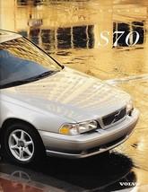 1998 Volvo S70 sales brochure catalog US 98 GLT GT T-5 - $9.00