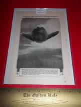 Home Paper Decor 1918 Zepplin Destroyed Aviatio... - $9.49