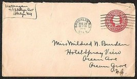 coversU.S. 1919 BROOKLYN N.Y TO CHICAGO N.J. 2 CENTS COVER - $4.99
