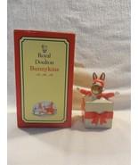 1994 Royal Doulton Christmas Surprise Bunnykins Figurine with Box DB146 - $11.95