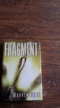 Fragment: A Novel by Warren Fahy (2009 Hardcover) - $4.50