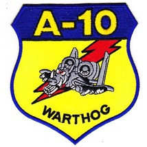USAF Fairchild Republic A-10 Thunderbolt II Military Patch WARTHOG - $9.95