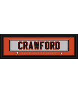 Brandon Crawford San Francisco Giants Player Stitched Jersey 8 x 24 Fram... - $39.95