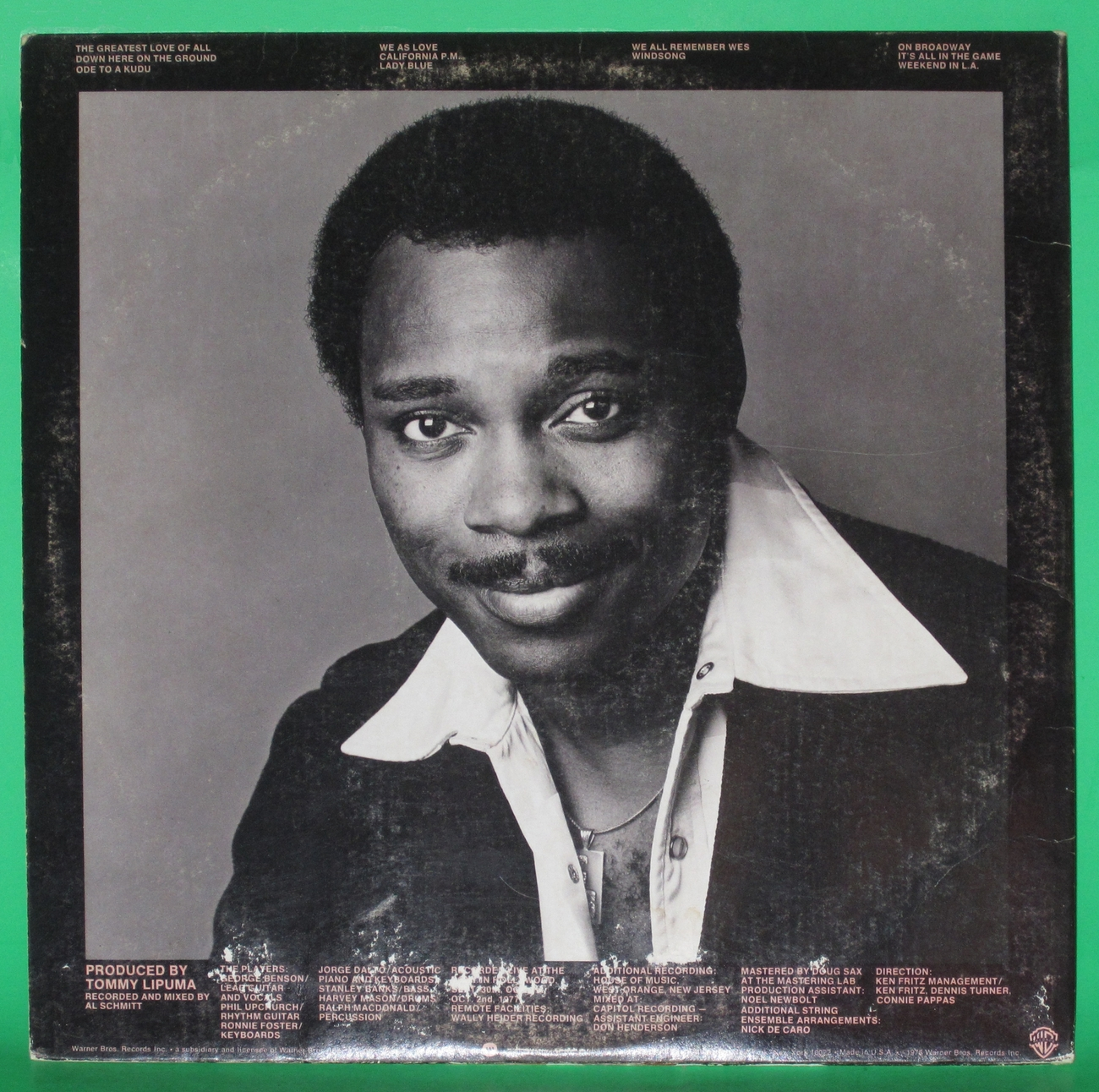 George Benson - Weekend in L.A.  2LP Record Set