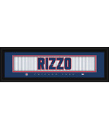 Anthony Rizzo Chicago Cubs Player Stitched Jersey Framed Print - $39.95