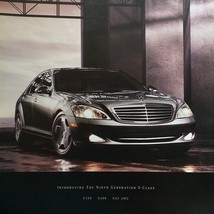 2007 Mercedes-Benz S-CLASS brochure catalog 2nd Edition 550 600 S65 AMG - $12.00