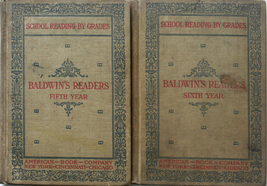 1897 Baldwin's 5th & 6th Year Children's Reader... - $20.00