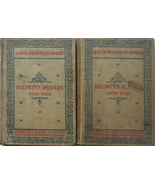 1897 Baldwin's 5th & 6th Year Children's Readers Engraved Il - $20.00