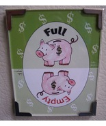 Linda Grayson gift flip magnet Money New - $5.00