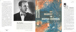 Ray Bradbury -THE MARTIAN CHRONICLES fac DJ 1st ed - $21.78