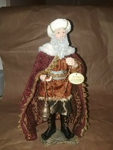 2008 Hawthorne Village, King Gaspar, From The Holy Nativity Heirloom Collection - $24.19
