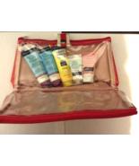 Neutrogena Skin & Hair  Care Set + Bag BEACH DEFENSE, DAILY CLEANSER, AC... - $9.99
