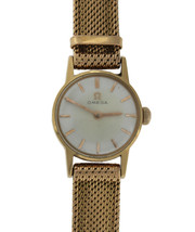 Ladies Omega 18k Solid Yellow Gold Watch & Band ORIGINAL 20mm 30.8gr - $1,999.99