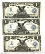 1899 $1 Silver Certificate fr236 Black Eagle Consecutive High Grade Unci... - $1,900.00