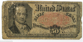 1875 $0.50 Fifty Cents Fractional Currency Bill FR#1380 Rare Bill - $49.95