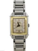 Girard-Perregaux Vintage 1945 18k Gold Bezel Stainless Steel Ladies Watch * - $950.00
