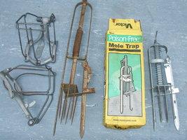 Mole Traps - $10.00