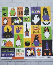 Gnome for Halloween KIT With Extra Papers! PhotoPlay. CLEARANCE image 3