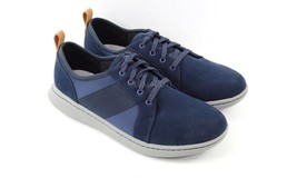 Womens Clarks Step Move Fly Sneakers - Navy Nubuck Size 7W - $64.99