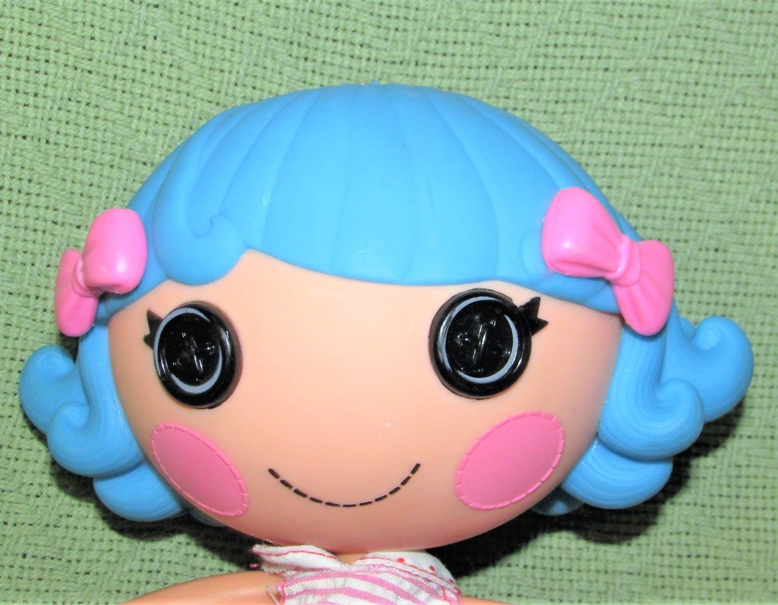 Lalaloopsy Doll Lot Full Size Blue Hair Plush Yellow Pink Pony Princess Toy
