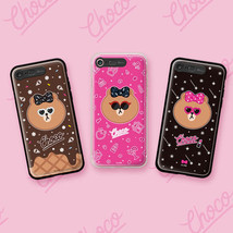 LINE Friends Premium New CHOCO Lighting Case iPhone 7/7 Plus Mobile Skin... - $47.99