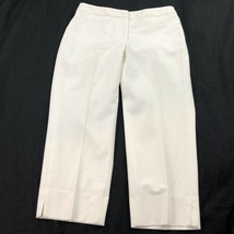 Talbots Women's White Capri Pants 4 - $19.79