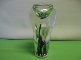Elegant Lotton Art Glass Hand Blown Morning Glo... - $279.99