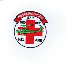 Army Patch - 57th Medical Company Air Ambulance Style #2:GA14-1 - $5.50