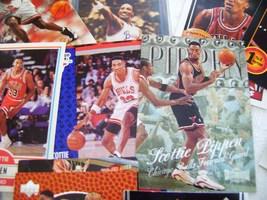 Scottie Pippen Basketball Card Lot - $12.00