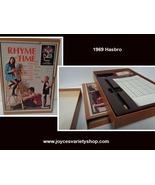 Vintage 1969 Game Rhyme Time NBC Home Entertainment Hasbro - $15.99