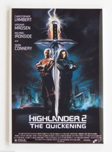 Highlander 2 FRIDGE MAGNET movie poster quicken... - $4.95