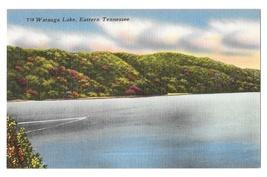TN Watauga Lake Eastern Tennessee Vintage Linen Postcard - $4.99